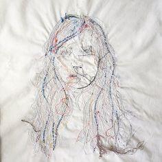 Back side of my Textile Fiber Art, Thread Art, Dream Catcher, Arts And Crafts, Textiles, Decor, Dream Catchers, Gift Crafts, Decorating
