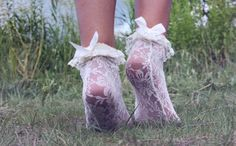 photography pretty cute adorable light fashion lace white style Feet bows nature sweet pastel socks grass pale pretty things pastel blog pale blog pale grunge paleness beautifu
