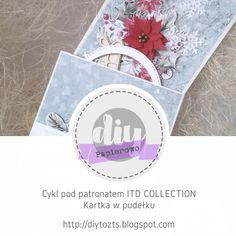 DIY - zrób to sam : PAPIEROWO / cykl pod patronatem ITD COLLECTION / k... Poinsettia, December, Retro, Diy, Collection, Bricolage, Do It Yourself, Retro Illustration, Homemade