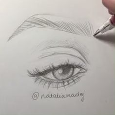 EYEBROW I wish I did my real brows as good as I draw them!I wish I did my real brows as good as I draw them! Pencil Art Drawings, Realistic Drawings, Art Drawings Sketches, Eye Drawings, Art Illustrations, Eye Drawing Tutorials, Drawing Techniques, Brow Studio, Feather Brows