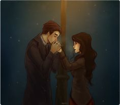 by Nymre                                Iroh is warming Asami's hands.