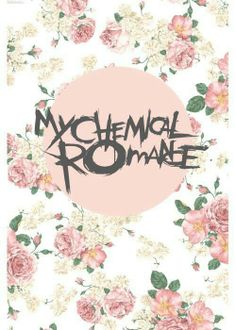 My chem on floral pattern, for when you don't want to be TOO hardcore.