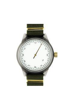 Minimalist Army Watch