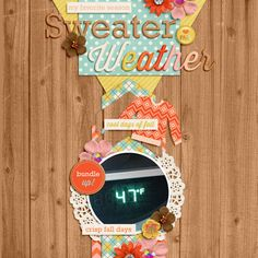 Sweater Weather by Jady Day Studio  Soapbox by Little Green Frog Designs