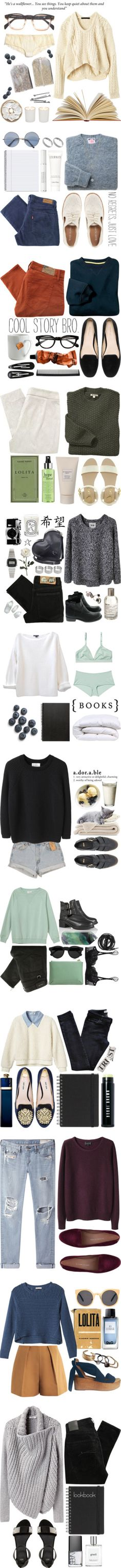 Sweaters! by ctodtims on Polyvore featuring Witchery, BOBBY, Madewell, Marc by Marc Jacobs, Calvin Klein, Levi's, River Island, Dorothy Perkins, Christian Dior and Kiss The Sky