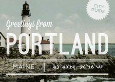 Portland, ME City Guide {UPDATE} – Design*Sponge