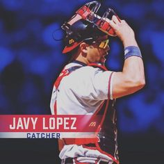 Catching for the #AllTFTeam, Javy Lopez!
