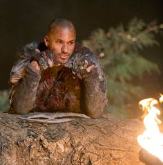 Ricky Whittle || The 100 cast behind the scenes || Lincoln haha I LOVE HIM