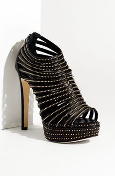Ummm yumm Dior stud caged sandal perfect for a night out on the town