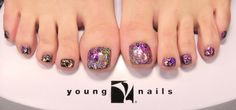 ManiQ Rock Star Toes by Young Nails