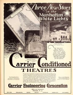 Ad from Motion Picture News, January 28, 1927. #theatretalks #nyc #theatre #cinema #manhattan