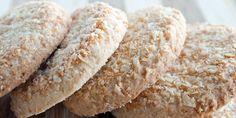 Coconut cookies - Cuisine - Healt and fitness Biscuit Dessert Recipe, Quick Biscuit Recipe, Biscuit Cake, Biscuit Cookies, Coconut Biscuits, Coconut Cookies, Yummy Cookies, Easy Anzac Biscuits, Quick Biscuits