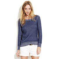 indigo ink sweater, Madewell
