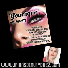 Join my team and start your own business! Plus enjoy an amazing makeup!!!