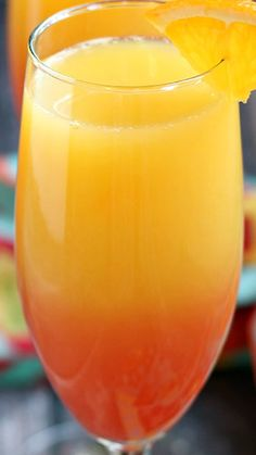 Tequila Sunrise Mimosa Recipe