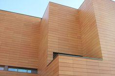 Fachadas Ventiladas de Gres. Construcción de edificios modernos.