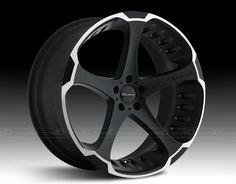 GIOVANNA® - DALAR-5 Black with Machined Stripe Wheel