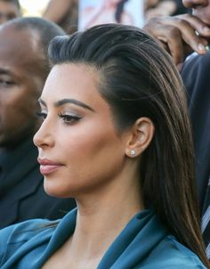 Kim Kardashian is seen at 'Jimmy Kimmel Live' on August 04, 2014 in Los Angeles, California.