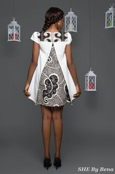 she-by-bena-fashionghana african fashion African Inspired Fashion, African Dresses For Women, African Print Fashion, Africa Fashion, African Attire, African Wear, African Fashion Dresses, African Women, Fashion Prints