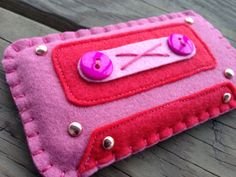 Pink & Red Valentine's 80's Cassette Tape iPhone 5 / 5S / 5C case