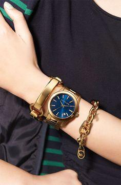 nice Montre tendance : Michael Kors 'Large Runway' Bracelet Watch, 44mm | Nordstrom
