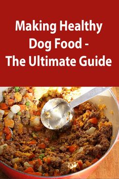 28 Dog Food Recipes Using Natural Healthy Ingredients - Dog Food - Ideas of Dog Food - DIY Homemade Dog Food Dog Biscuit Recipes, Dog Treat Recipes, Healthy Dog Treats, Dog Food Recipes, Doggie Treats, Kfc Biscuit, Easy Recipes, Make Dog Food, Wet Dog Food