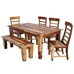 5PC9015DINING Jaipur Home 5-Piece Dining Set