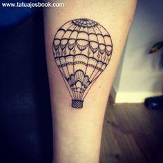 Resultado de imagen para tatuajes globo aerostatico significado