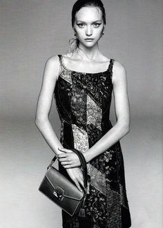 Gemma Ward by Steven Meisel for Prada S/S 2015 #minimode www.mini-mode.com