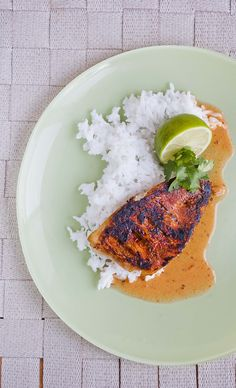Baked Red Mullet Thai Style - The red curry paste in this recipe spreads down and into the fish, infusing it with delicious flavour - http://www.fishisthedish.co.uk/recipes/main-meals/1435-baked-red-mullet-thai-style