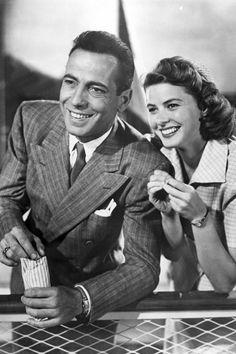 Ingrid Bergman n Humphrey Bogart, Casablanca.