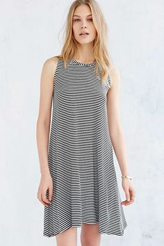 37bbc59baf2 BDG Striped Swing Midi Dress - Urban Outfitters Urban Dresses