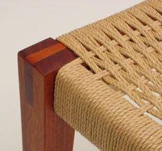 Custom Made Custom Danish Cord Chair