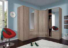 Šatní skříně Optimo A | Zadara nábytek.cz Curtains Childrens Room, Window Curtains, Windows, Furniture, Home Decor, Poster, Environment, Red Lamps, Ikea Nursery