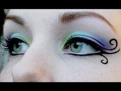 Love this eye makeup. Fairy Fantasy Makeup Tutorial