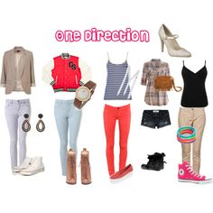 One direction inspired outfits for girls!!(: