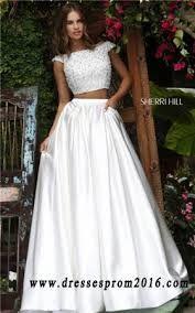Resultado de imagen para prom two piece dresses