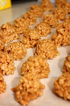 Cooking with ChristyB » Peanut Butter Rice Krispies Balls/Original Rice Krispies Treats