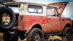 cars and trucks Classic Pickup Trucks, Old Pickup Trucks, Chevy Classic, Classic Cars, Internacional Scout, Scout Truck, Scout 800, Chevy Trucks Older, Vintage Trucks