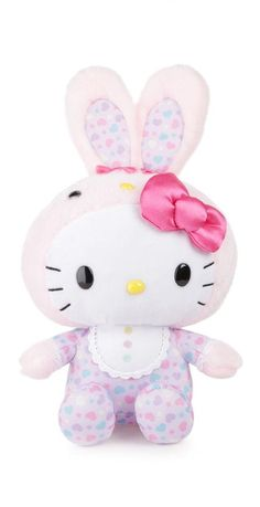 Celebrate Easter with this sweet Hello Kitty plush.  Supercute!