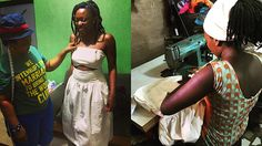 This entrepreneur turned her vacation into a full scale fashion production while in Nigeria. Check out her story here.