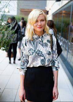A.Z.: Kirsten Dunst Street Style