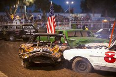 The most exciting event at the fair - The Demolition Derby is on closing day 9/7/13 at the Eastern Idaho State Fair.