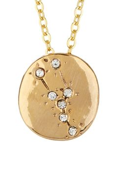 Alisa Michelle Taurus Constellation Necklace from HauteLook on shop.CatalogSpree.com, your personal digital mall.
