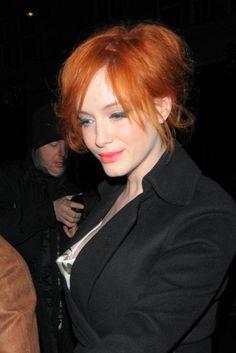 Christina Hendricks rocks in stunning, red hairstyle