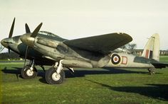 A Mosquito serial number NT of No 620 Squadron, at East Wretham, Norfolk. Air Force Aircraft, Ww2 Aircraft, Fighter Aircraft, Military Aircraft, Fighter Jets, Rolls Royce Merlin, De Havilland Mosquito, Ww2 Planes, Royal Air Force