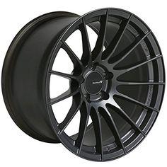 Enkei RS05-RR Gunmetal Rim (Size: 18×10 / Offset: +22 / PCD: 5×114.3 / Bore: 75.0) — One Wheel / 484-810-6522GM