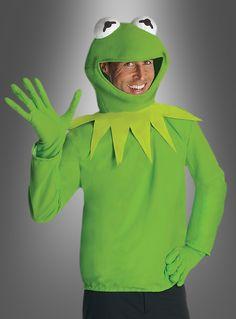 Kermit Muppets Kostüm Halloween Carnival, Carnival Costumes, Halloween Town, Halloween 2020, Cool Costumes, Halloween Costumes, Kermit The Frog Costume, Die Muppets, The Muppet Show