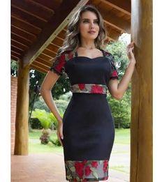 Floratta Modas - A Loja da Mulher Virtuosa . from Diyanu - Ankara Dresses, Shirts & African Attire, African Wear, African Dress, African Print Fashion, African Fashion Dresses, Modest Fashion, Fashion Outfits, Womens Fashion, Pretty Dresses