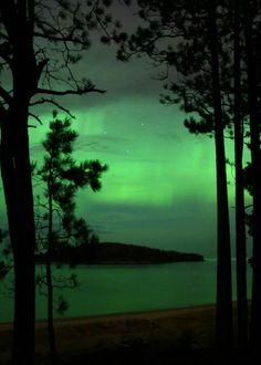 Aurora Boreal (Michigan, Estados Unidos)